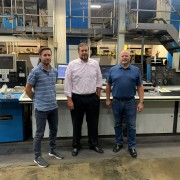 EPC DCOS New project (Mattias Andersson at DCOS, Jermey Engle and Daryl Rutt at Engle Printing)
